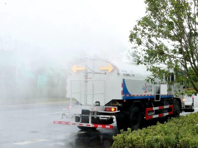 天锦路面清洗车后高压喷雾上