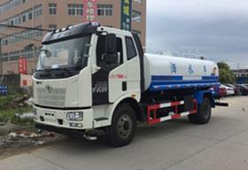 解放J6 12吨绿化洒水车